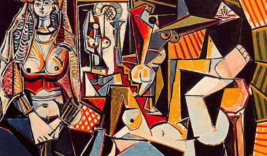 Pablo-Picasso-Algerian-women-Delacroix-detail-1955