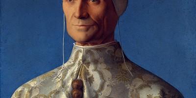 Portrait of Doge Leonardo Loredan Giovanni Bellini