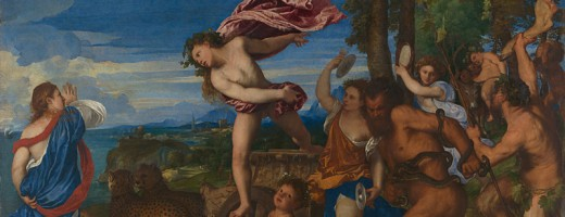 Titian, active about 1506; died 1576 Bacchus and Ariadne 1520-3 Oil on canvas, 176.5 x 191 cm Bought, 1826 NG35 https://www.nationalgallery.org.uk/paintings/NG35