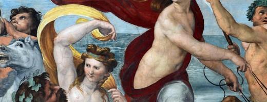 Trionfo di Galatea (particolare) di Raffaello Sanzio, ©Villa Farnesina/ The Triumph of Galatea by Raphael (detail)©Villa Farnesina